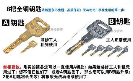 超C级防盗锁芯系列 (5)